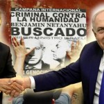Macri sonríe con el genocida Netanyahu. Argentina compra armas al asesino de más de 2000 palestinos.