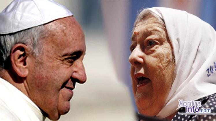 HebedeBonafini-PapaFrancisco-Bergoglio