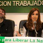 """Cristina Kirchner en ATE Capital: """"La unidad de los trabajadores es un puntal para reconstruir un gran bloque nacional, popular y democrático"""". Discurso completo"""