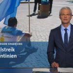 El canal estatal alemán se refirió al Paro General contra Macri con duras críticas