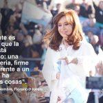 """(VIDEO) Cristina blanco sobre negro: """"El 22 de octubre se elige si el Tercer Senador va a ser Jorge Taiana o Gladys González (PRO)"""""""
