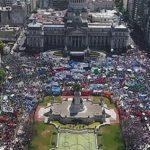 """Moyano, Palazzo, las CTA y un movimiento obrero de pie: """"Esta unidad que se ha hecho acá, va a continuar. Les vamos a dar pelea cada vez que ataquen a los trabajadores"""""""