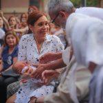 Cristina participó de una emotiva misa conmemorando a las 12 personas desaparecidas en 1977 en la Iglesia Santa Cruz