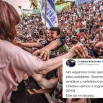 """El deseo de Cristina para 2018: """"No vayamos más para atrás. Vayamos para adelante. Seamos inteligentes, amplios y solidarios"""""""