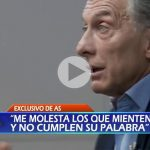 """(VIDEO) Indignante: Macri a los familiares del ARA San Juan: """"Son cosas que pasan"""""""