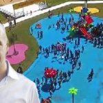 """Escándalo: el PRO gastó más de $40 millones en la pileta falsa de plástico ($39 millones en """"logística"""")"""