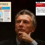"""La prensa internacional refleja la crisis Argentina, el """"desplome del peso"""" y el sometimiento al FMI"""